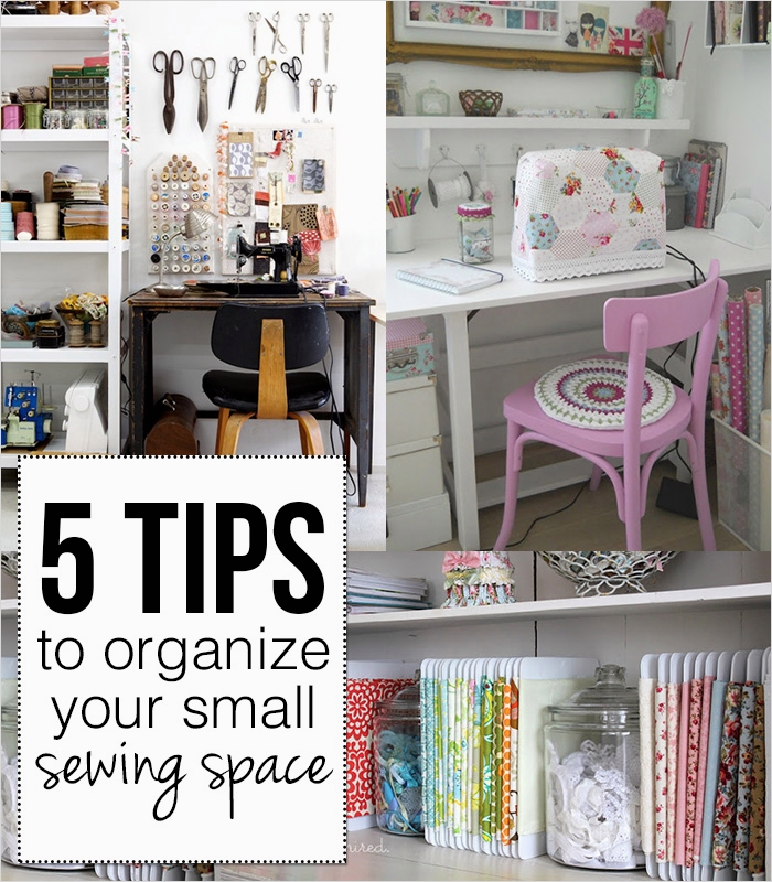 Sewing Room Ideas for Small Spaces 64 5 Tips to organize Your Small Sewing Space andrea S Notebook 6