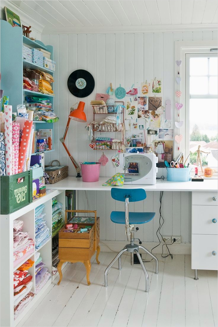 Sewing Room Ideas for Small Spaces 47 Sewing Room Fice Studio 9