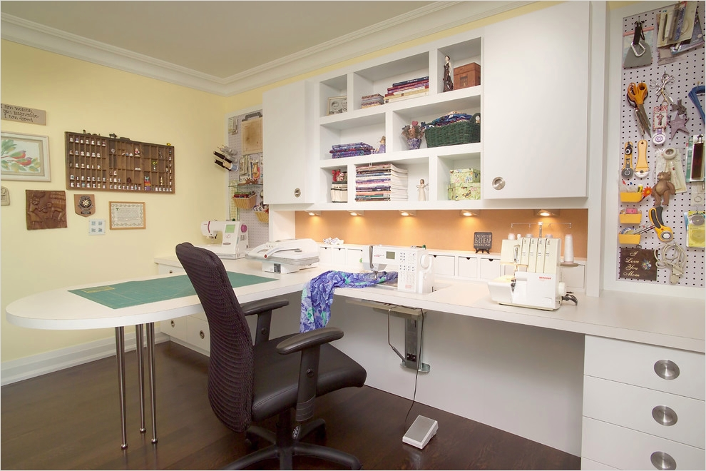 Sewing Room Ideas for Small Spaces 86 Sensational Sewing Room Ideas Decorating Ideas In Laundry Room Traditional Design Ideas 6