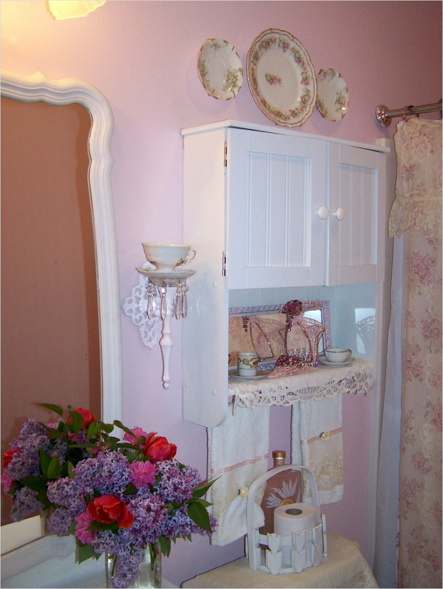 Shabby Chic Bathroom Accessories 30