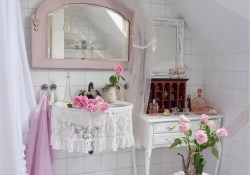 43 Beautiful Shabby Chic Bathroom Decorating Ideas 24 28 Lovely and Inspiring Shabby Chic Bathroom Décor Ideas 4