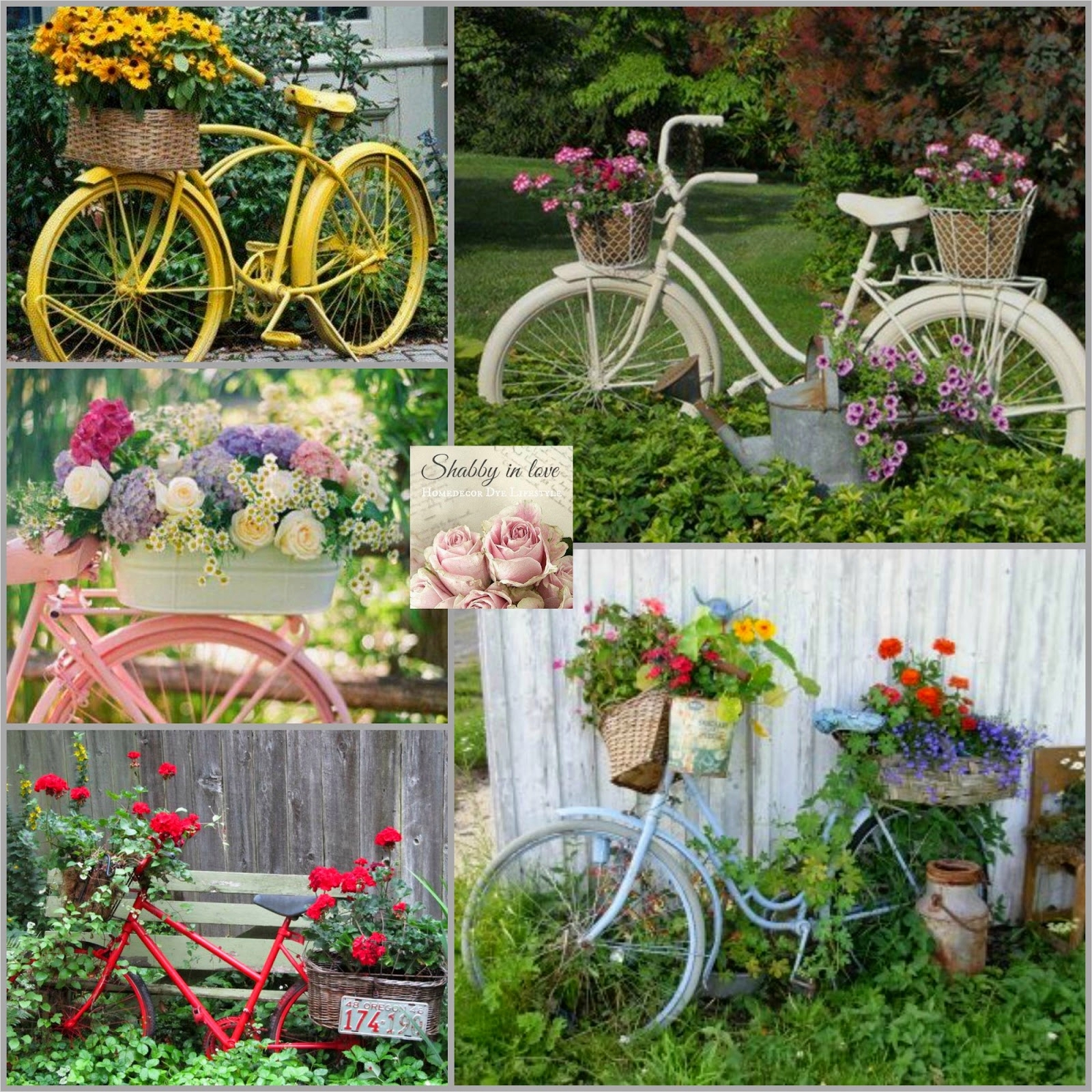 42 Beautiful Vintage Yard Decorating Ideas 43 Shabby In Love Lovely Garden Container Ideas 9