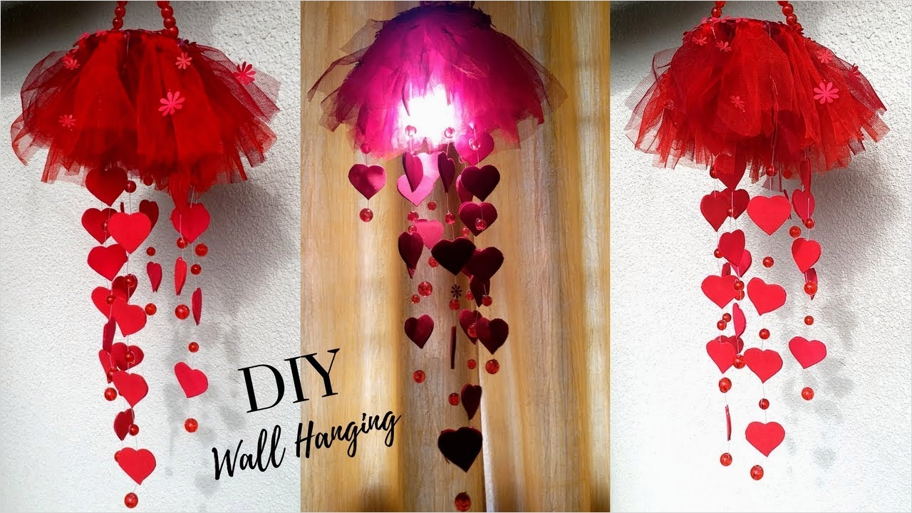 44 Creative Craft Wall Decoration Ideas 95 New Diy Heart Wall Hanging Craft Ideas for Room Decoration 8