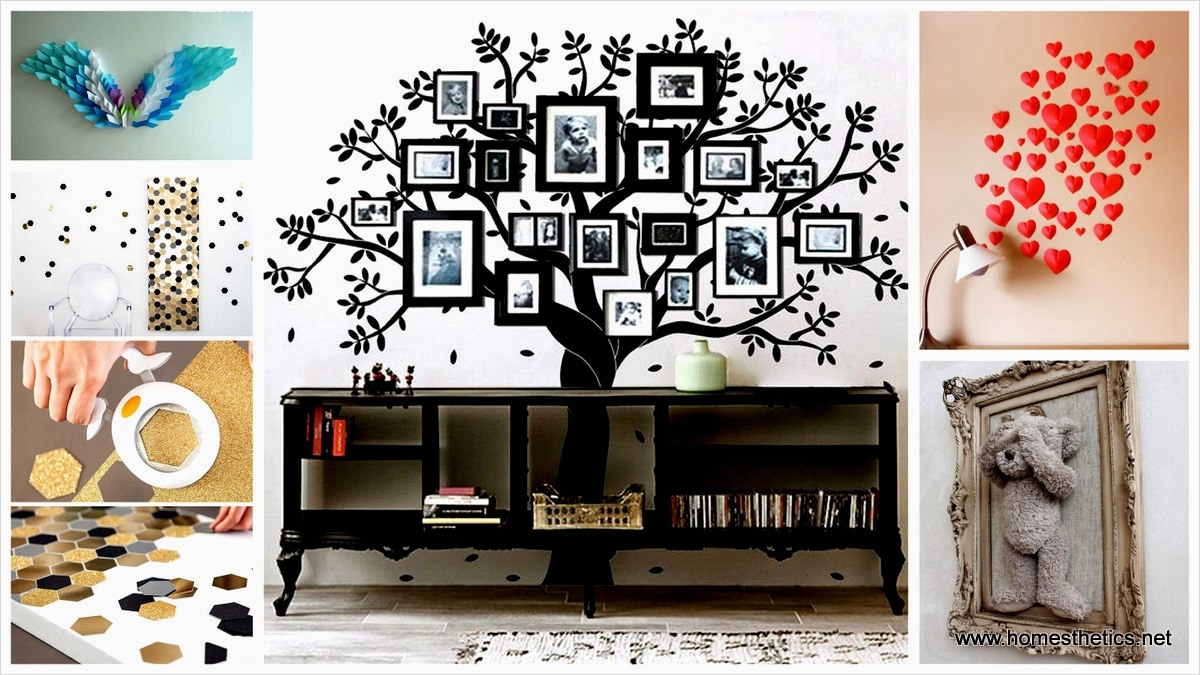 44 Creative Craft Wall Decoration Ideas 43 46 Inventive Diy Wall Art Projects and Ideas for the Weekend 7