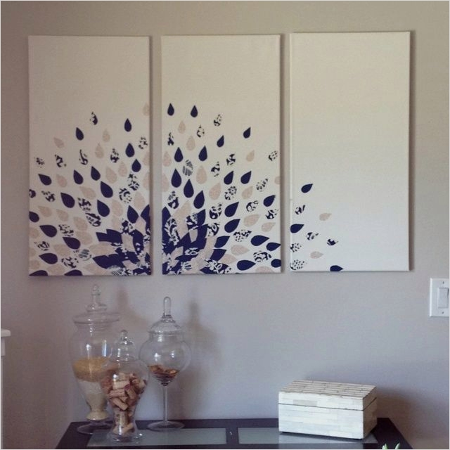 44 Creative Craft Wall Decoration Ideas 23 the 25 Best Multiple Canvas Paintings Ideas On Pinterest 5