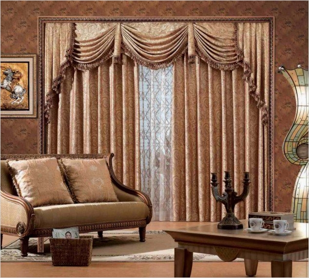 41 Stunning Simple Living Room Curtain Ideas 52 Curtains Ideas for Living Room Regarding Household Living 9