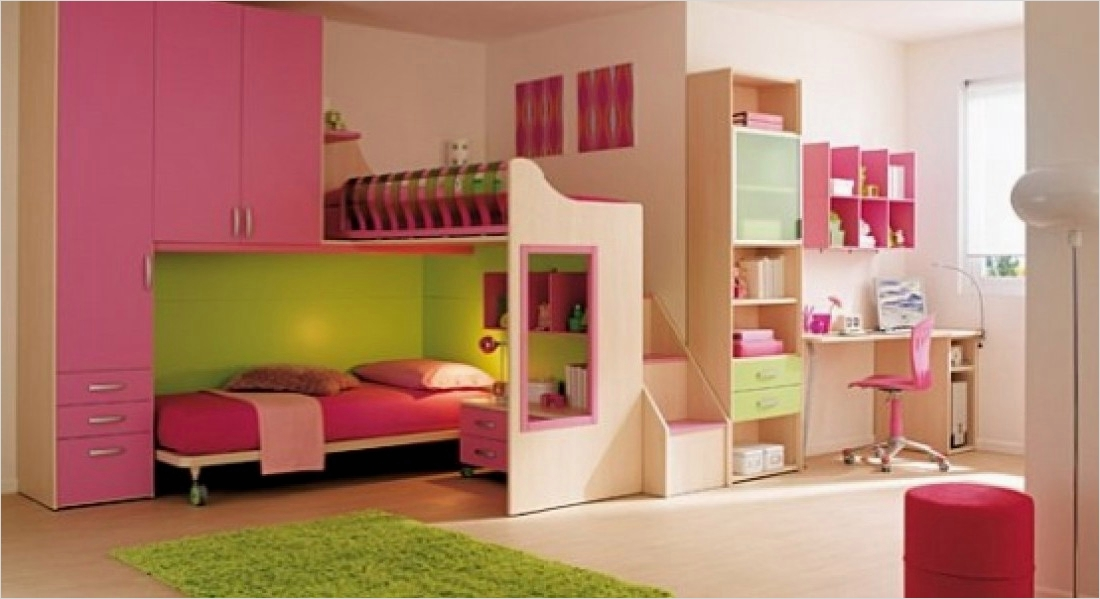 42 Stylish Bedrooms for Teenage Girls 33 Beautiful Color Bination with Space Bedroom Ideas 2