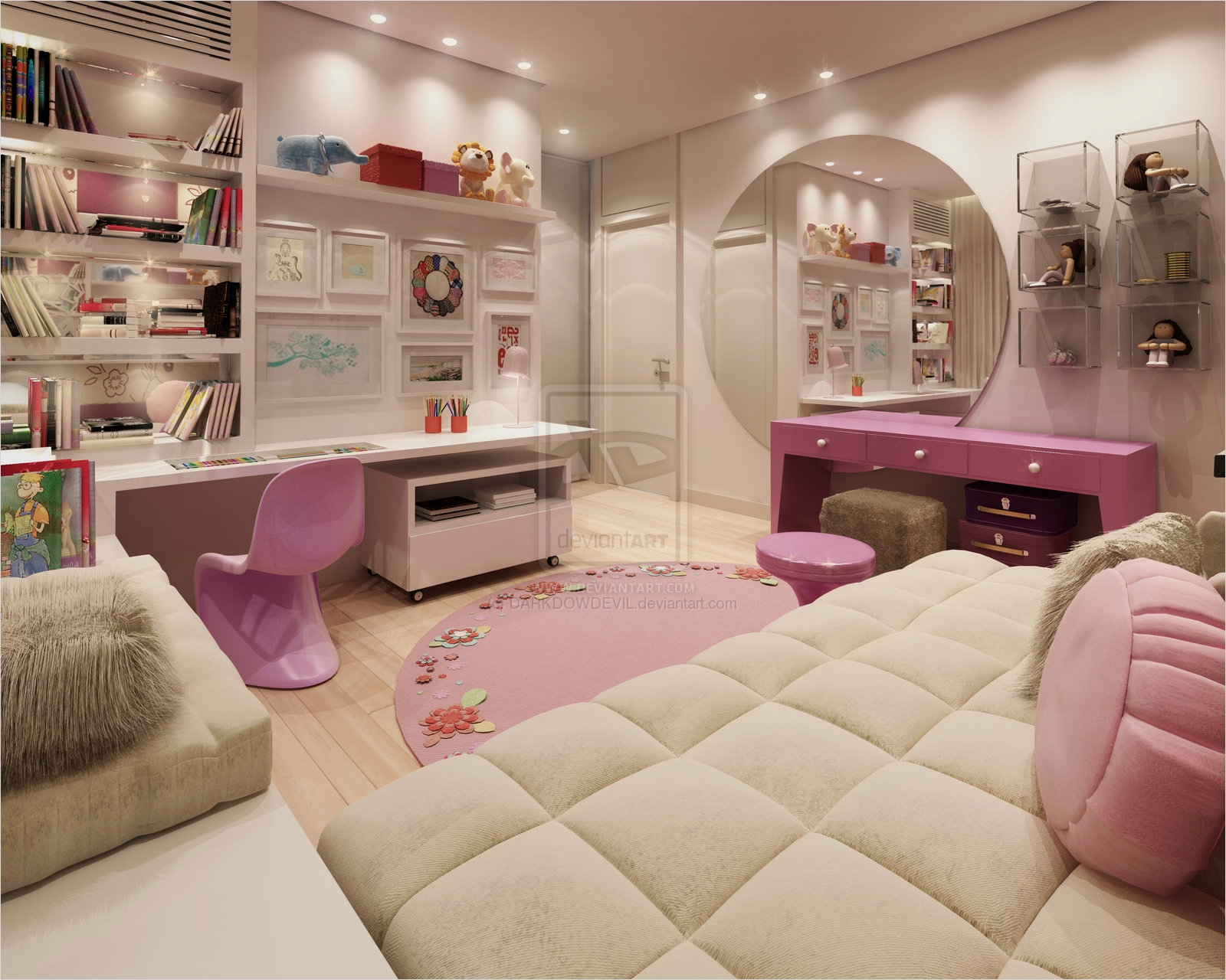 42 Stylish Bedrooms for Teenage Girls 37 top 21 Modern Bedrooms for 2014 Qnud 6