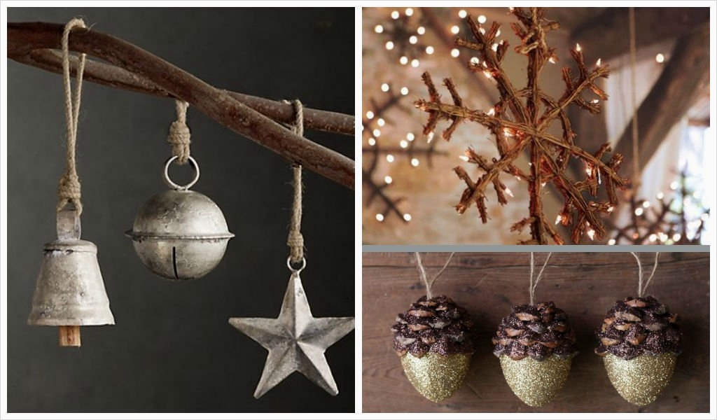 45 Diy Rustic Christmas Decorations 85 35 Rustic Diy Christmas ornaments Ideas 8