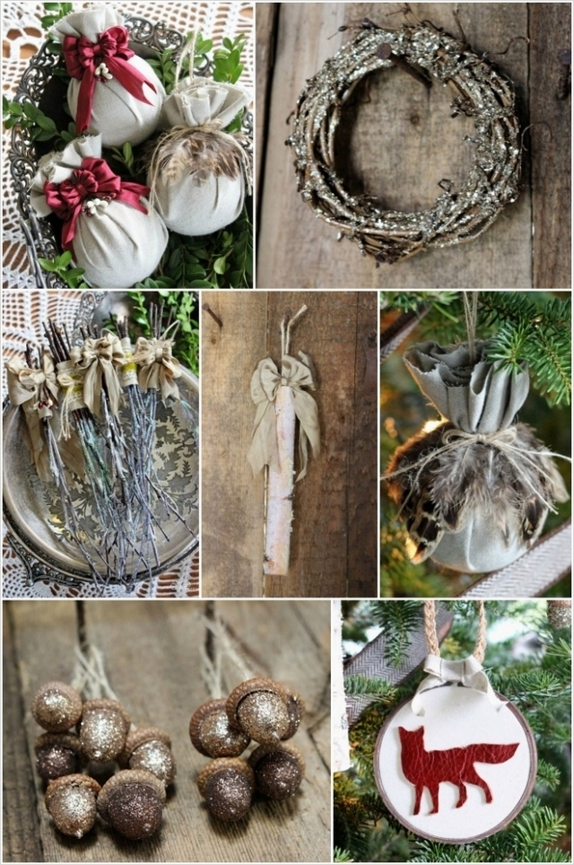 45 Diy Rustic Christmas Decorations 93 Homemade Rustic Christmas Decorations 7