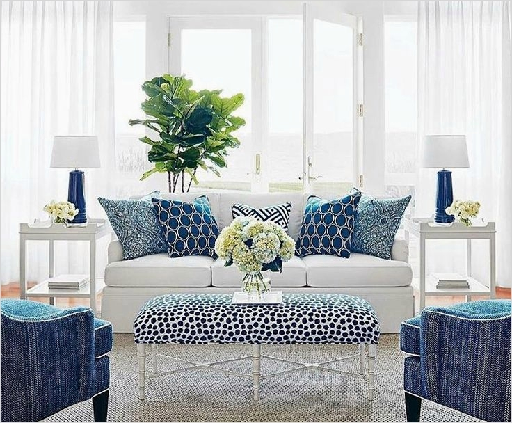 41 Amazing Navy Blue and White Living Room 46 the 25 Best Hamptons Living Room Ideas On Pinterest 8