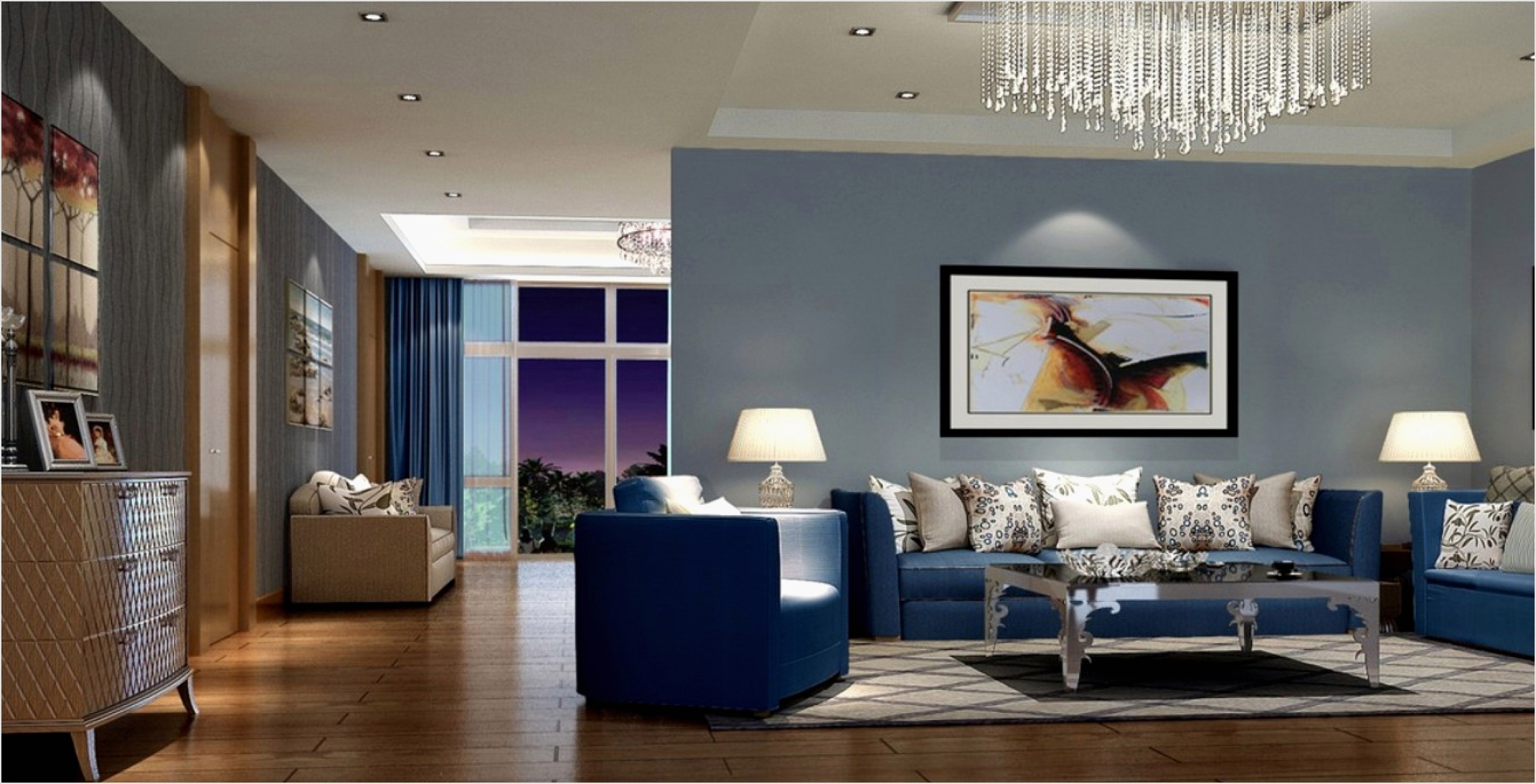 41 Amazing Navy Blue and White Living Room 32 Luxury Navy Blue sofas Best sofa Furnitures 5