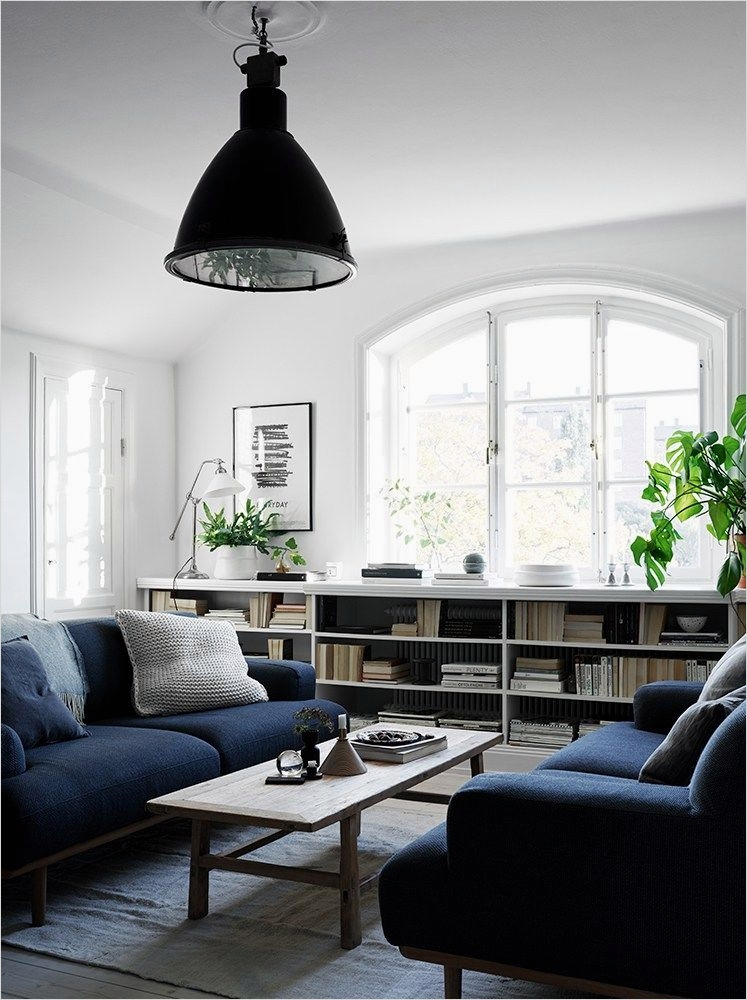 41 Amazing Navy Blue and White Living Room 27 White Living Room with Navy Blue Couch S and for Tumblr 6
