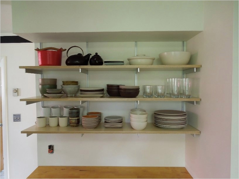 42 Stylish Ideas Minimalist Kitchen Shelves 48 Tips On organize Minimalist Kitchen Shelves 6