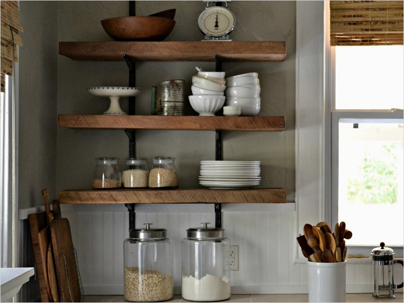 42 Stylish Ideas Minimalist Kitchen Shelves 51 Simple Kitchen Rack Design 9