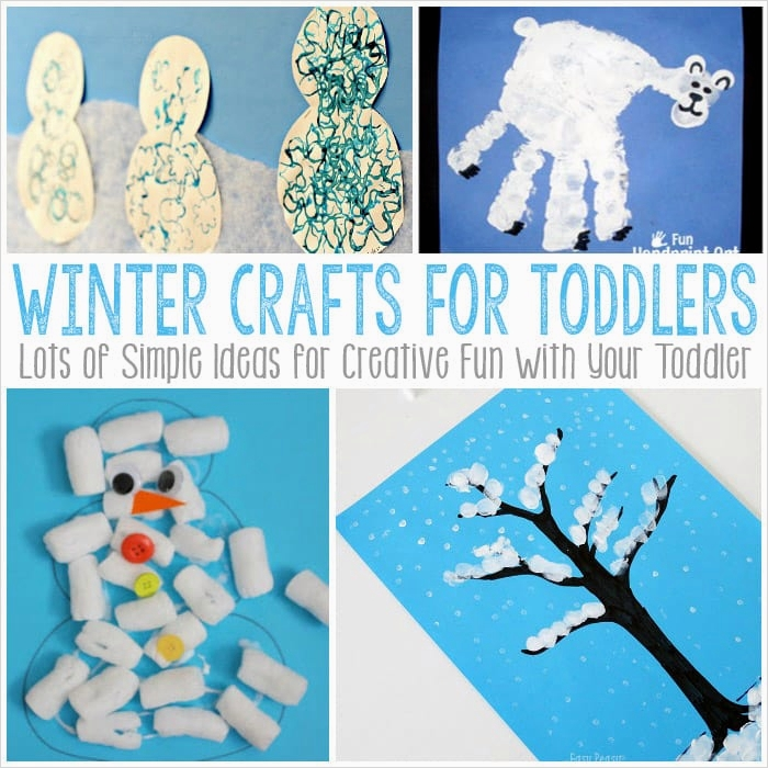 40 Diy Easy Winter Crafts 52 Simple Winter Crafts for toddlers Easy Peasy and Fun 6