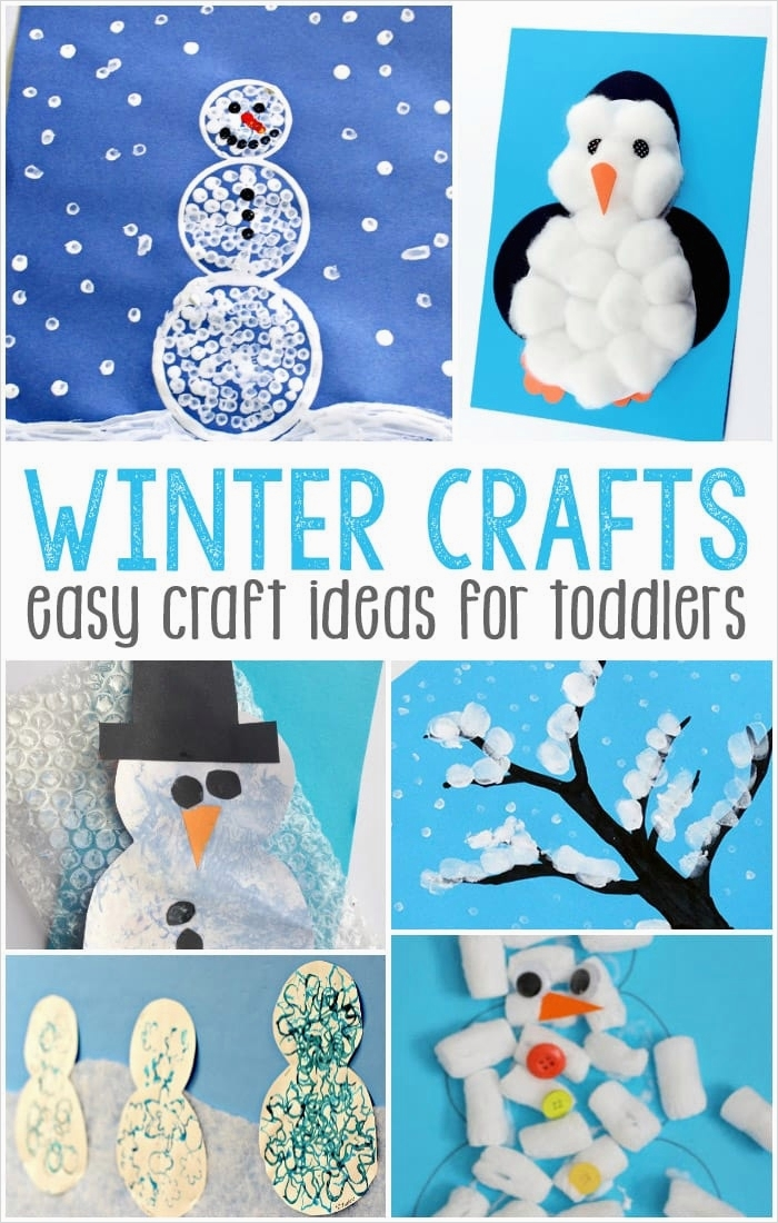 40 Diy Easy Winter Crafts 66 Easy Winter Crafts for toddlers 7