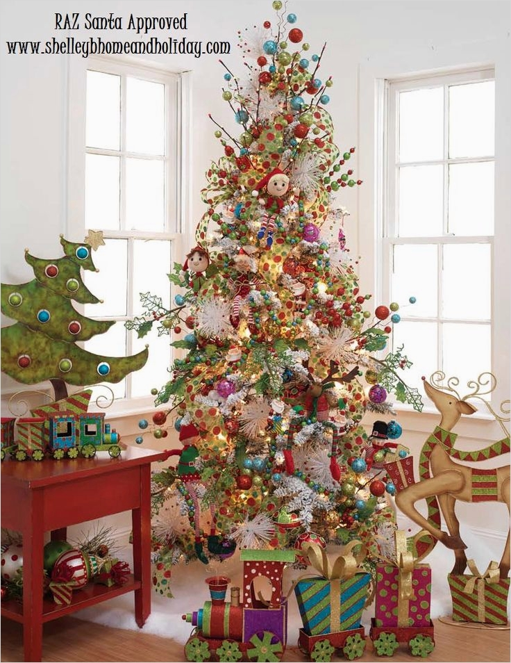 41 Awesome Whimsical Christmas Tree Decorating Ideas 88 153 Best Images About Christmas Trees On Pinterest 3