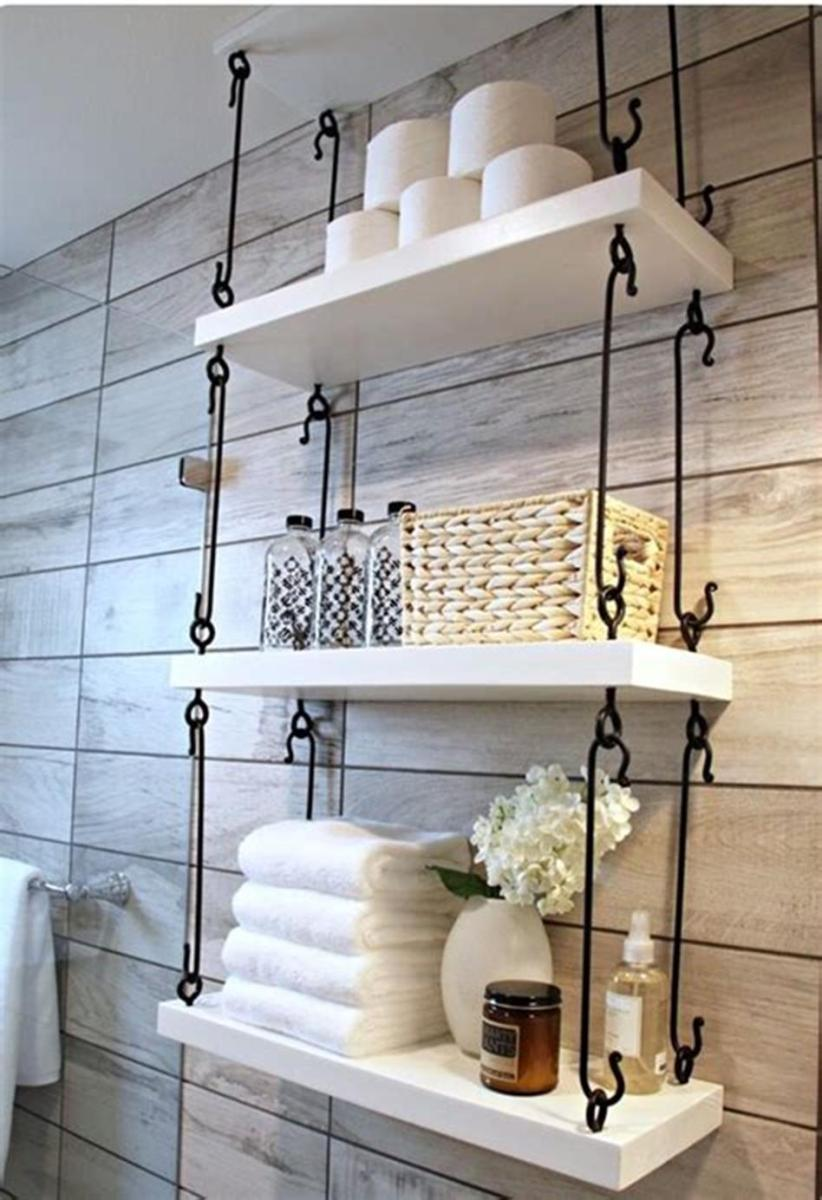 30 Best Rustic Bathroom Design and Decoration Ideas 2019 46