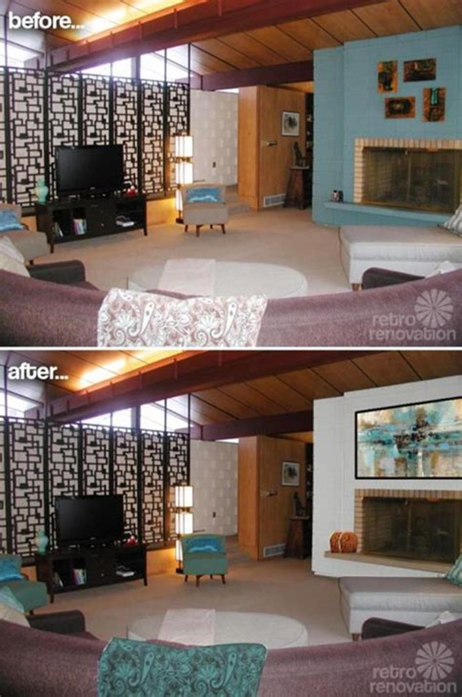 50 Amazing Mid Century Modern Living Room Design Ideas 28