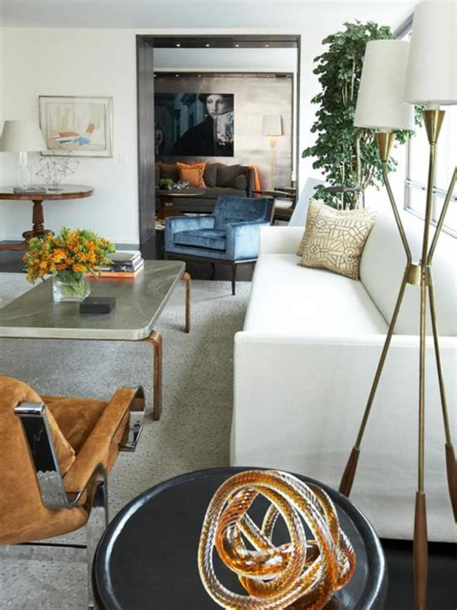 50 Amazing Mid Century Modern Living Room Design Ideas 40