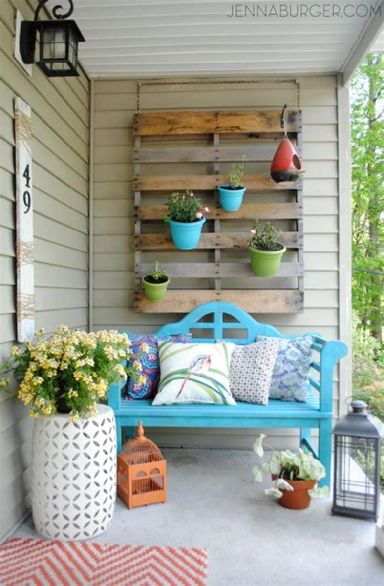40 Beautiful Spring Front Porch Decorating Ideas You Will Love 1