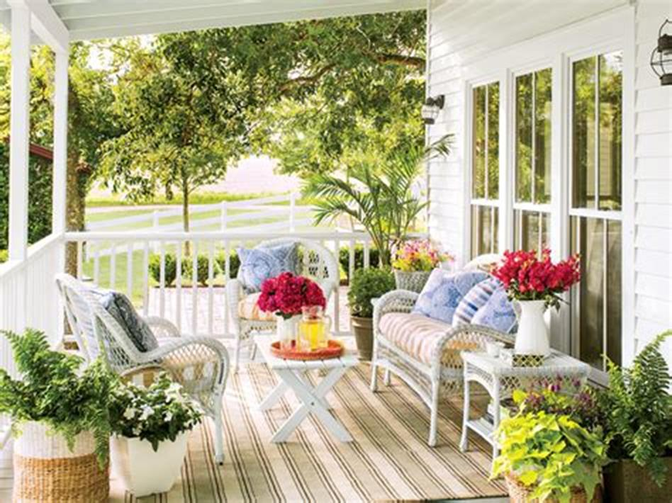 40 Beautiful Spring Front Porch Decorating Ideas You Will Love 17