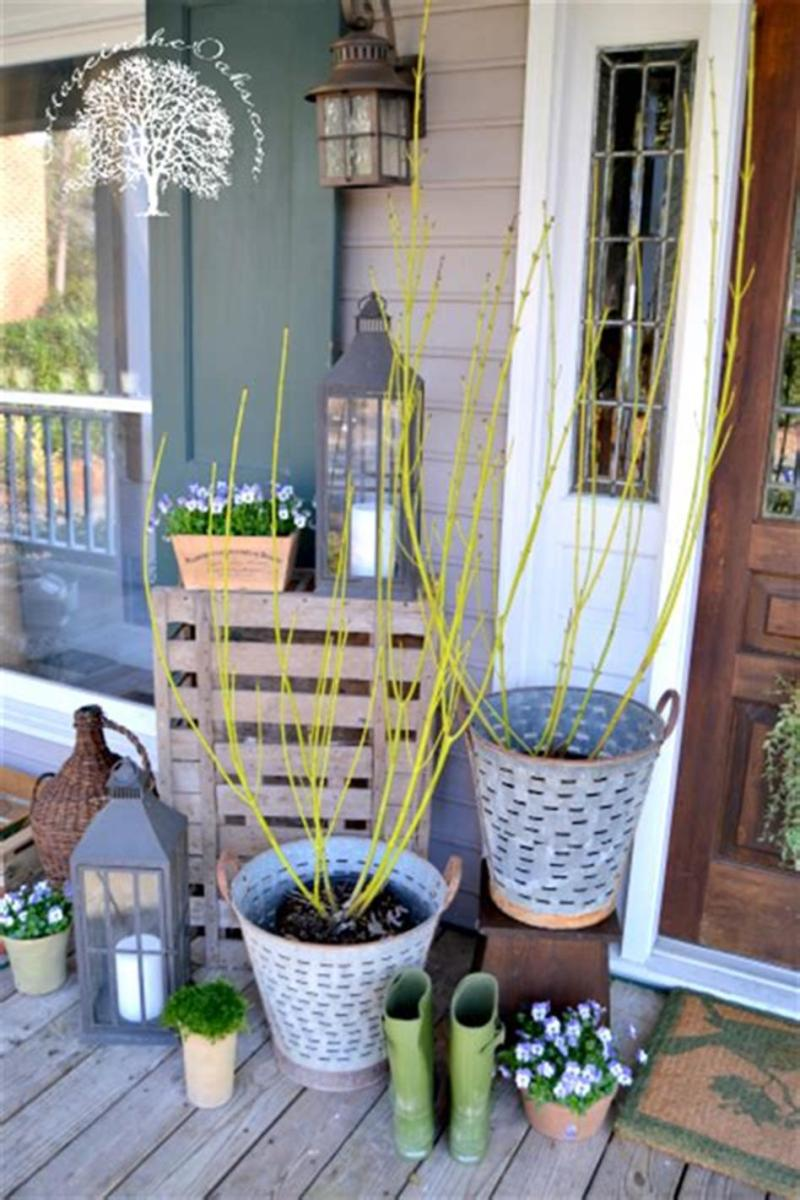 40 Beautiful Spring Front Porch Decorating Ideas You Will Love 2