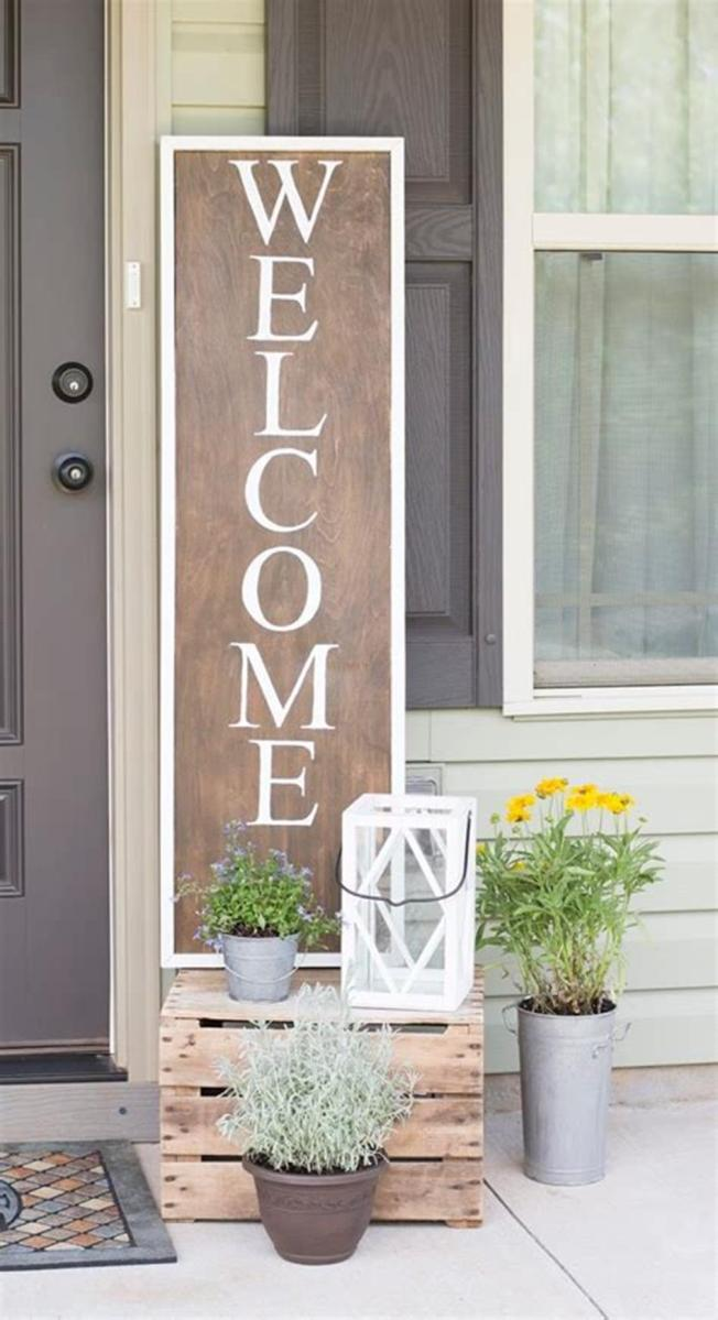 40 Beautiful Spring Front Porch Decorating Ideas You Will Love 21