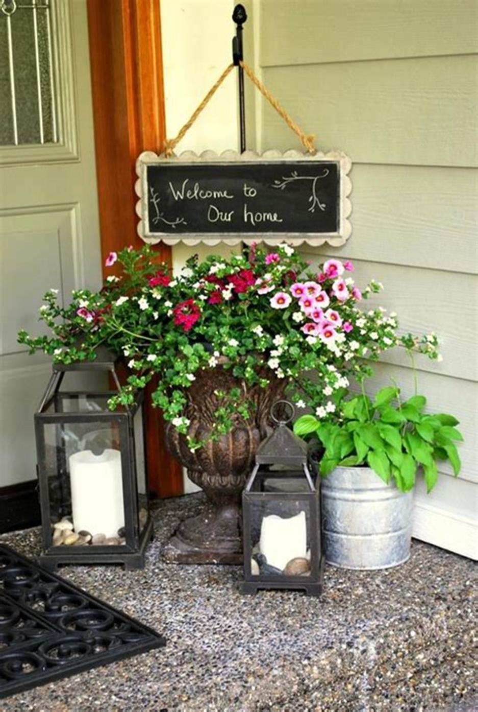 40 Beautiful Spring Front Porch Decorating Ideas You Will Love 23