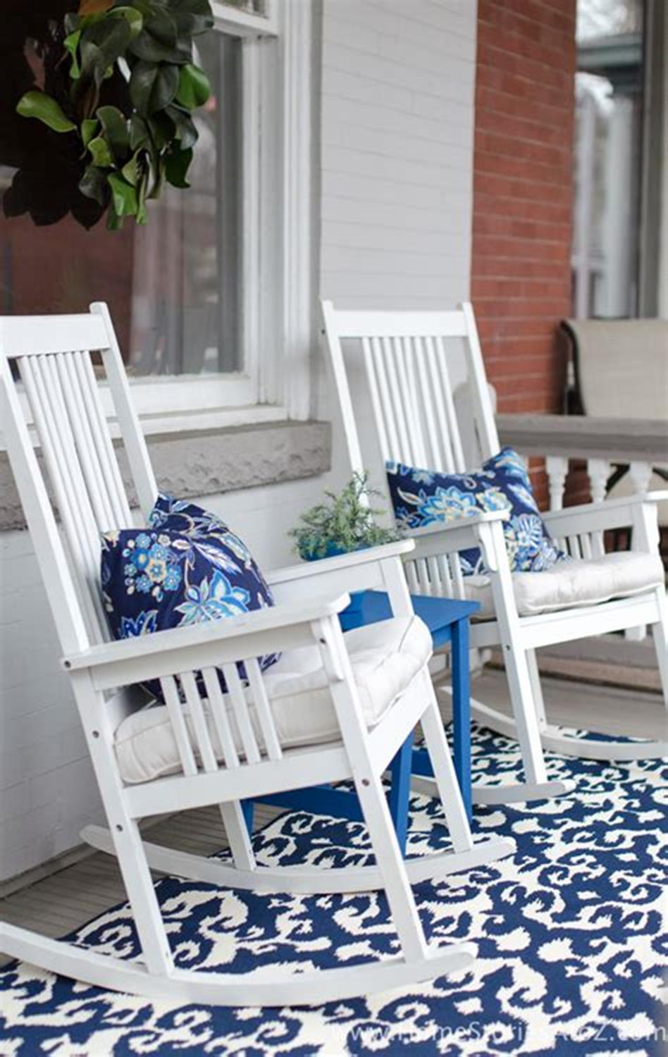 40 Beautiful Spring Front Porch Decorating Ideas You Will Love 50