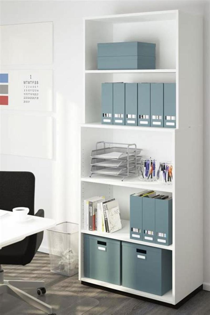 50 Cheap IKEA Home Office Furniture with Design and Decorating Ideas 28