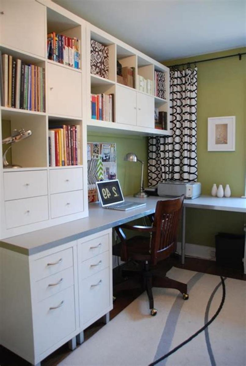 50 Cheap IKEA Home Office Furniture with Design and Decorating Ideas 32