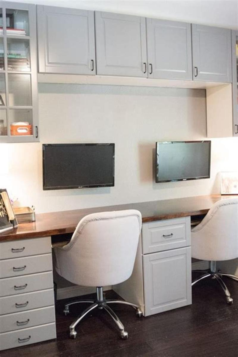 50 Cheap IKEA Home Office Furniture with Design and Decorating Ideas 45