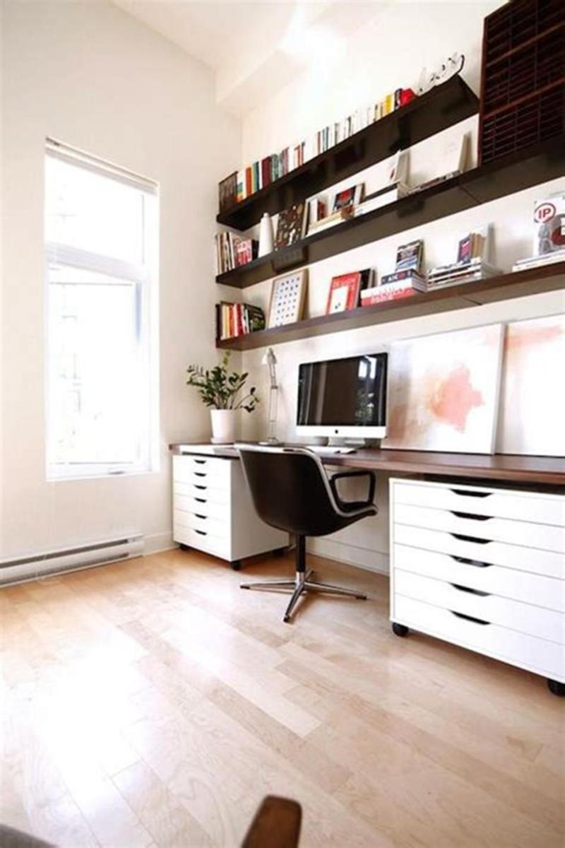 50 Cheap IKEA Home Office Furniture with Design and Decorating Ideas 59