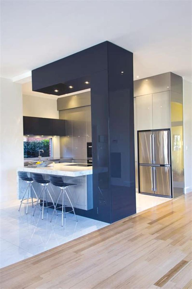 35 Stunning Contemporary Kitchen Design Ideas Youll Love 30