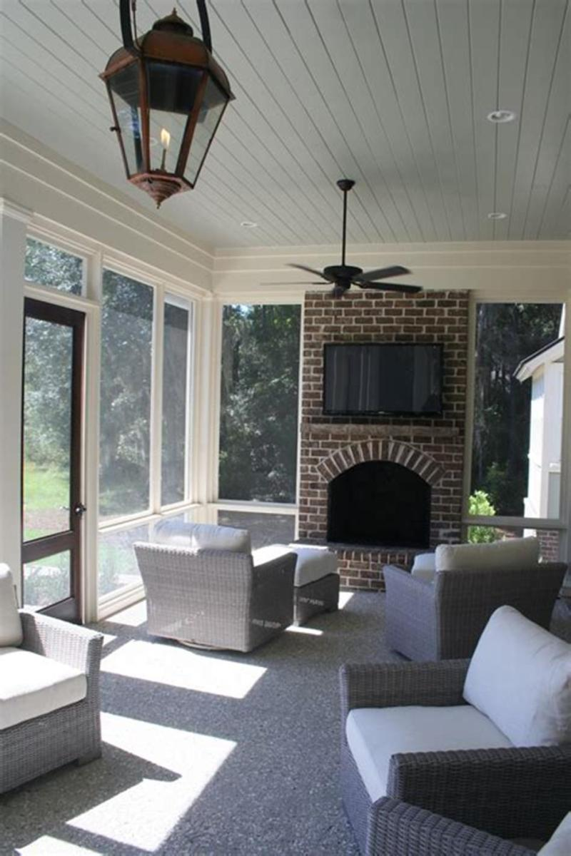 40 Best Screened Porch Design and Decorating Ideas On Budget 16
