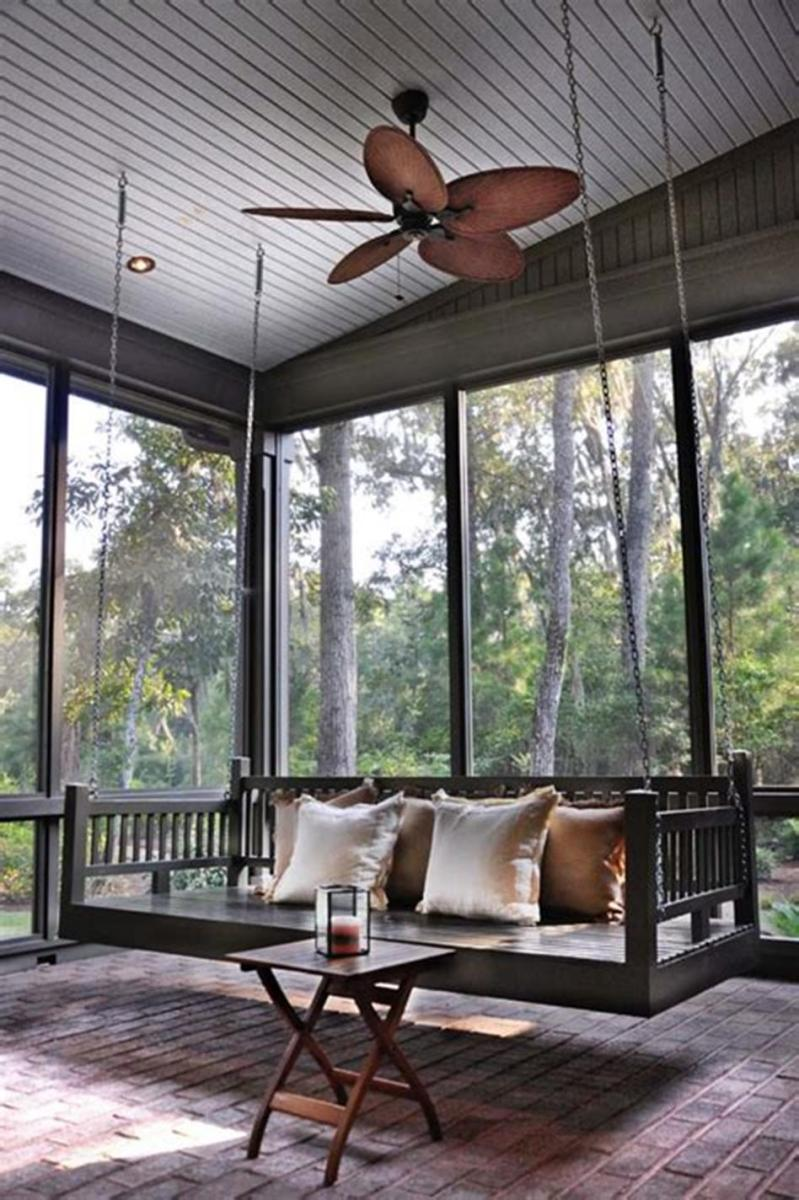 40 Best Screened Porch Design and Decorating Ideas On Budget 18