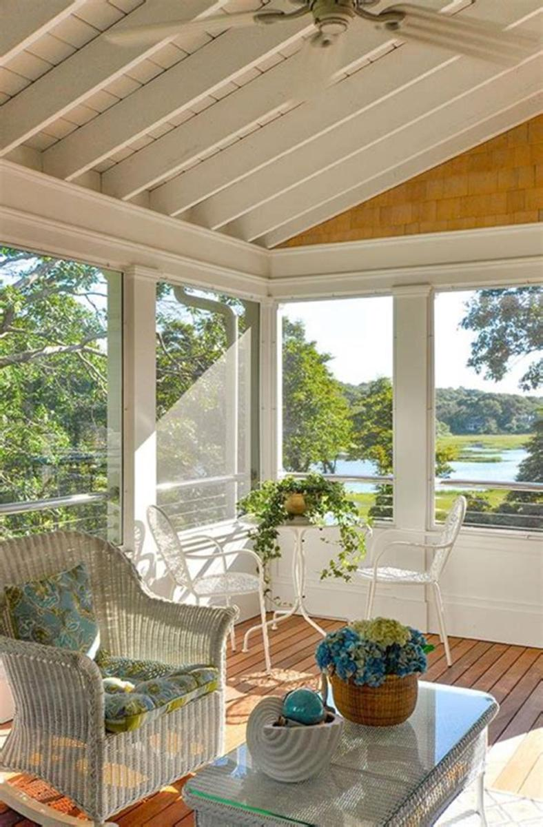 40 Best Screened Porch Design and Decorating Ideas On Budget 3
