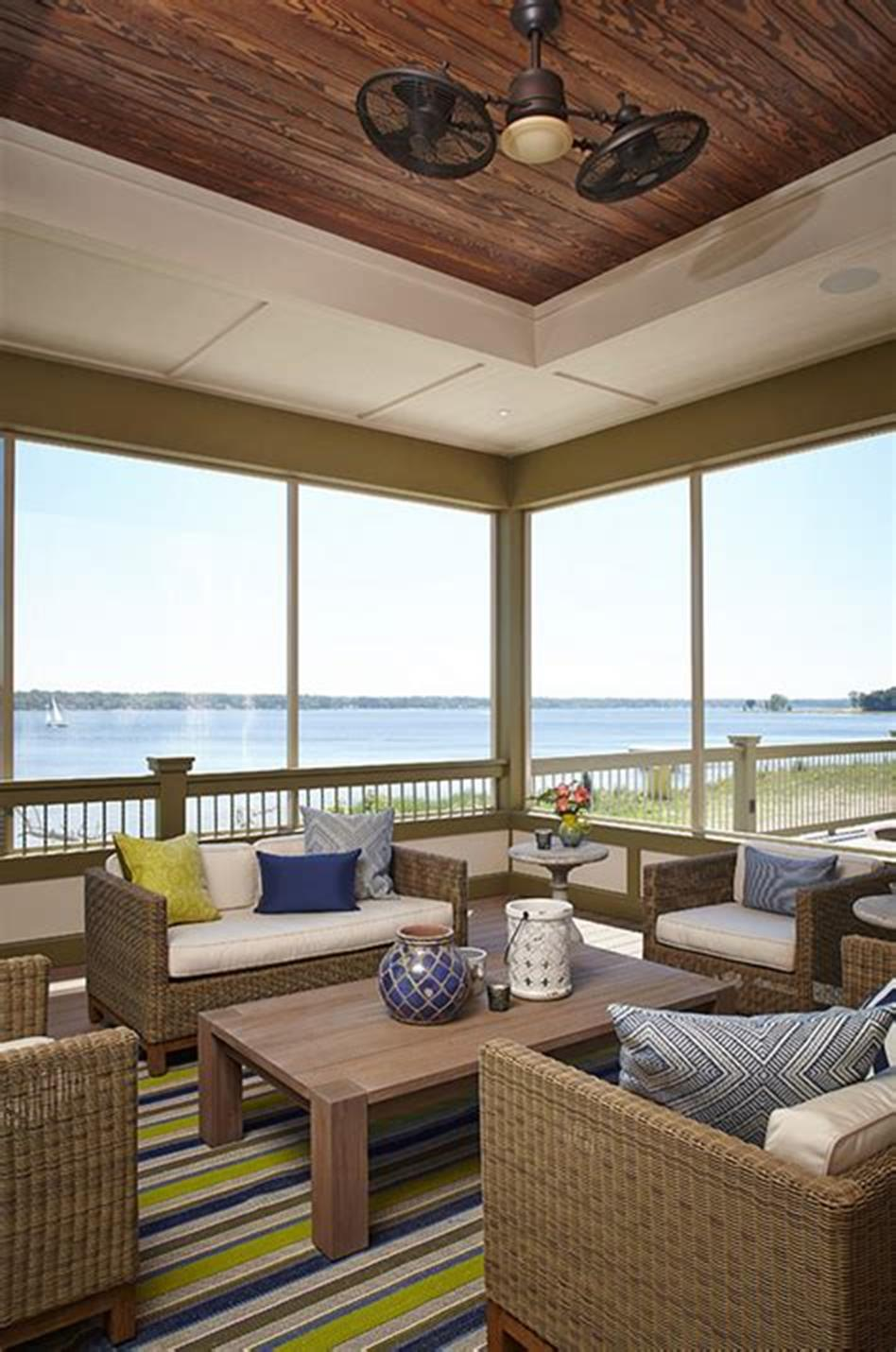 40 Best Screened Porch Design and Decorating Ideas On Budget 7