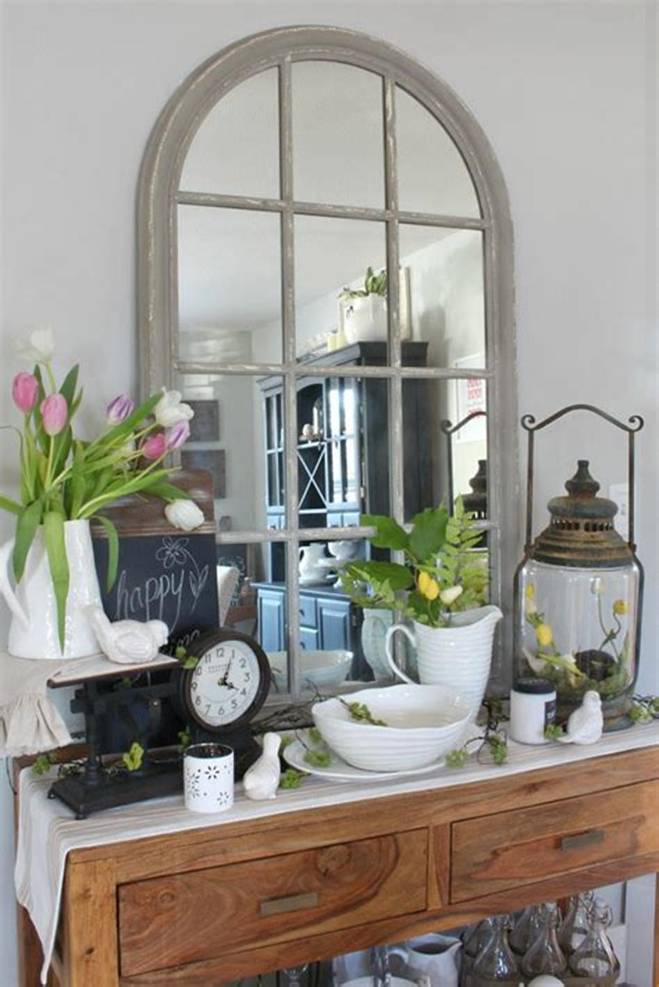 42 DIY Beautiful Vintage Spring Decorations Ideas You Will Love 42