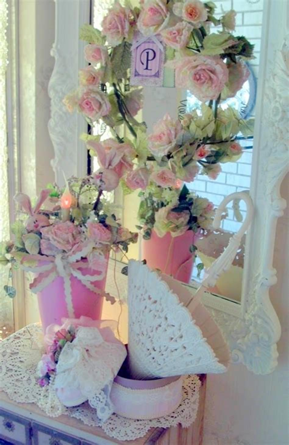 42 DIY Beautiful Vintage Spring Decorations Ideas You Will Love 7