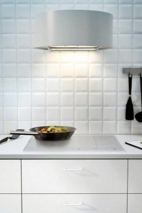 hottes ikea modele blanc integre pour