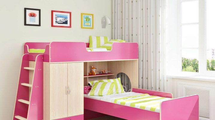 lit superpose pour les filles