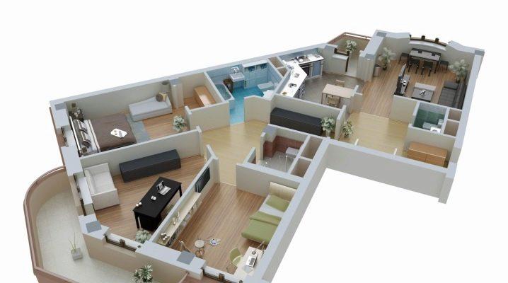 تخطيط شقة 181 صور خيارات للاستوديو من 30 40 متر مربع م