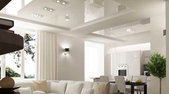 Arredare un loft open space. Separazione Della Cucina E Del Soggiorno 37 Foto Quanto E Bello Separare Le Due Zone Della Stanza Con Un Arco