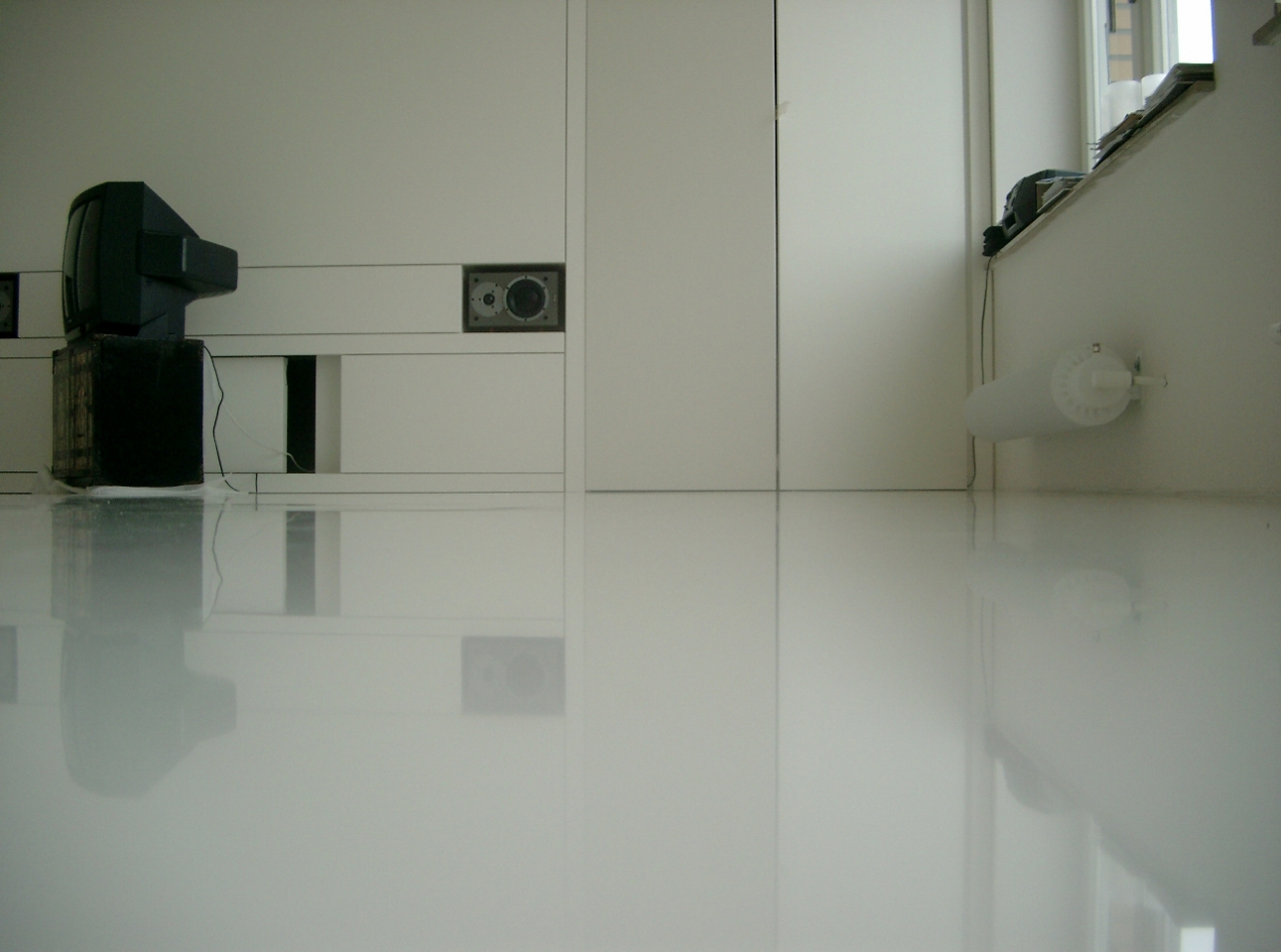 thickness of the self leveling floor