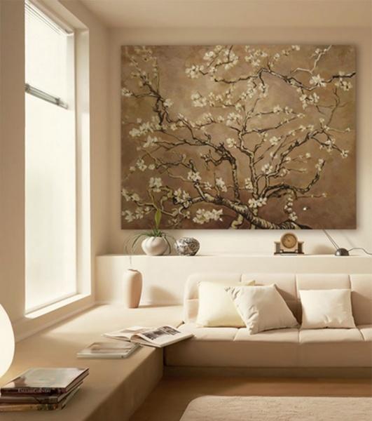 … o quella di utagawa hiroshige del 1852 con un uccello su doppio ramo di ciliegio. Sfondo Van Gogh 36 Foto Esempi Di Collezioni E Pannelli Negli Interni Recensioni Mandorle In Fiore Strisci Di Van Gogh E Sakura