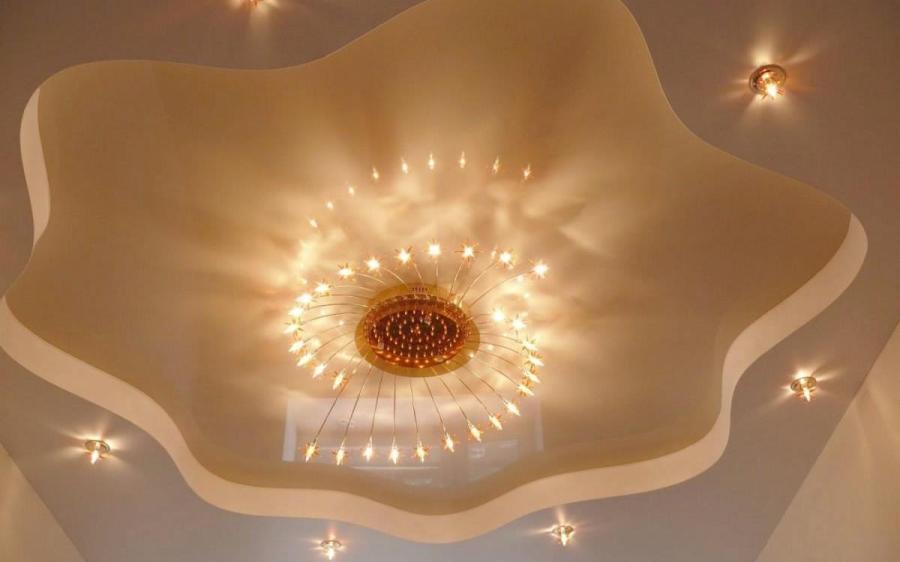 مصابيح السقف المعلق 32 صورة لمبات Led لمبنى مفصلي إضاءة