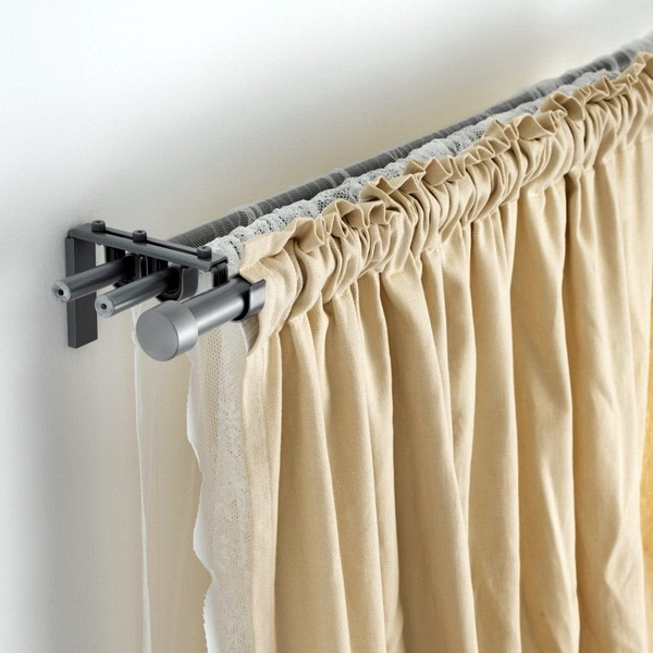 eaves in ikea string and curtain
